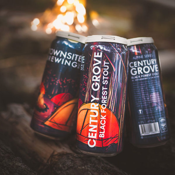 Century Grove Black Forest Stout Cans