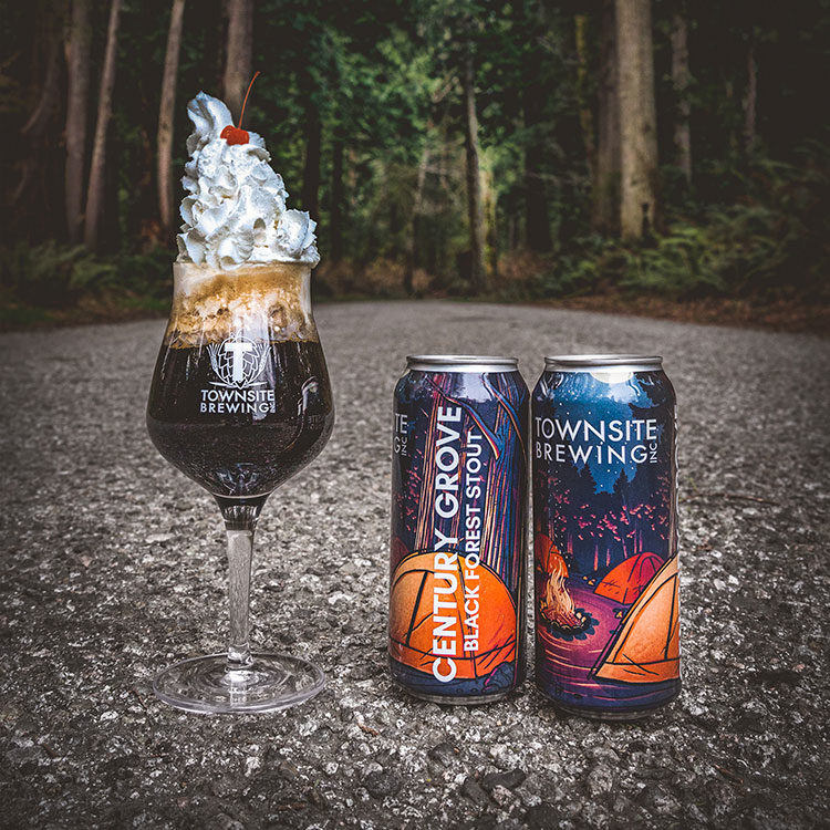 Century Grove Black Forest Stout Whipped Cream